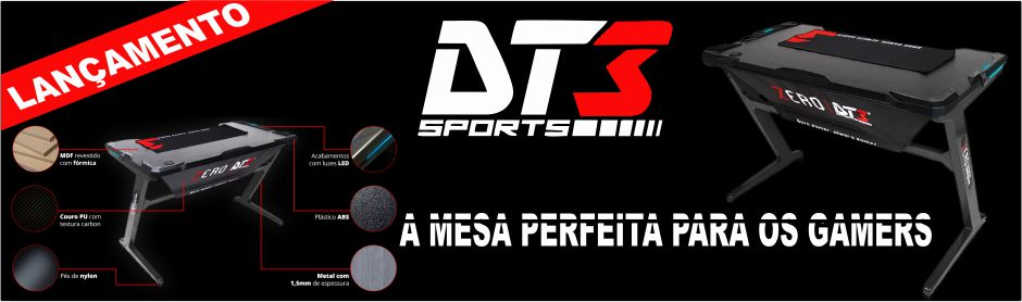 Mesa Gamer Dt3sports Zero Grey