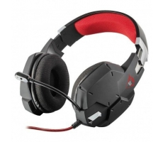 Headset Gamer Gxt 322 Black Trust