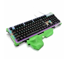 TECLADO GAMER WARRIOR MECANICO LED RGB MULTILASER TC216