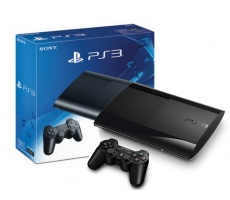 Playstation 3 Super Slim 500GB DESBLOQUEADO + 10 JOGOS NO HD