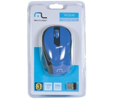 Mouse Wireless 1200dpi 2.4ghz Multilaser