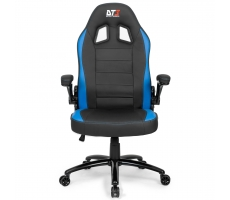 Pc Ac Cadeira Gamer Dt3 Sports Gti Azul